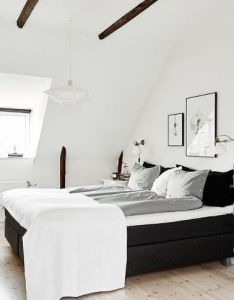 Bedroom cozy black white and grey also https facebook thecozyspace le boudoir pinterest rh za
