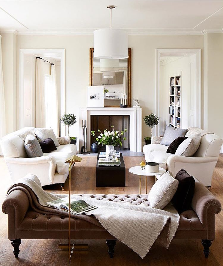 neutral living room  Inspiring Interiors  Pinterest