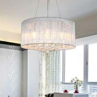 Modern Pendant Lamp Ceiling Light Crystal Chandelier ...