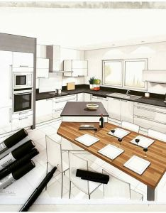 Markers used to show texture in the design also best images about interior sketch on pinterest rh