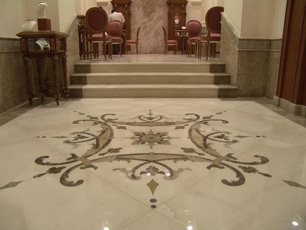 Interior Floors Vitrified Tiles Flooring Or Marble Flooring