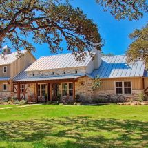 Texas Hill Country German Style Homes
