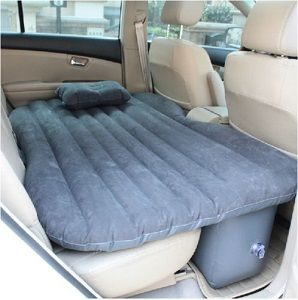 This Nice Inflatable Air Bed Mattress Fits In The Back Seat Of Your Car Or Suv