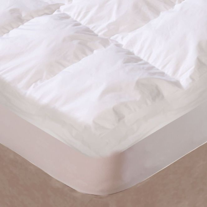 The Ultimate Mattress Topper Combines A Pillow Top Fiber Bed With Memory Foam For 4