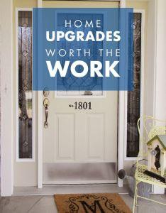home upgrades to make you proud steel entry door also house doors rh pinterest