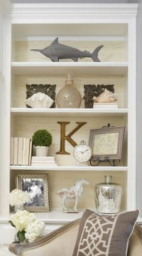 The key to a good-looking bookcase is making sure there is ...