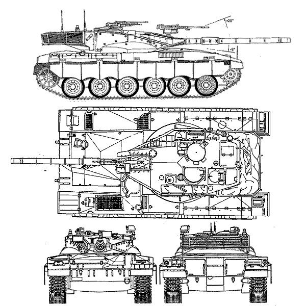 related with merkava tank schematic