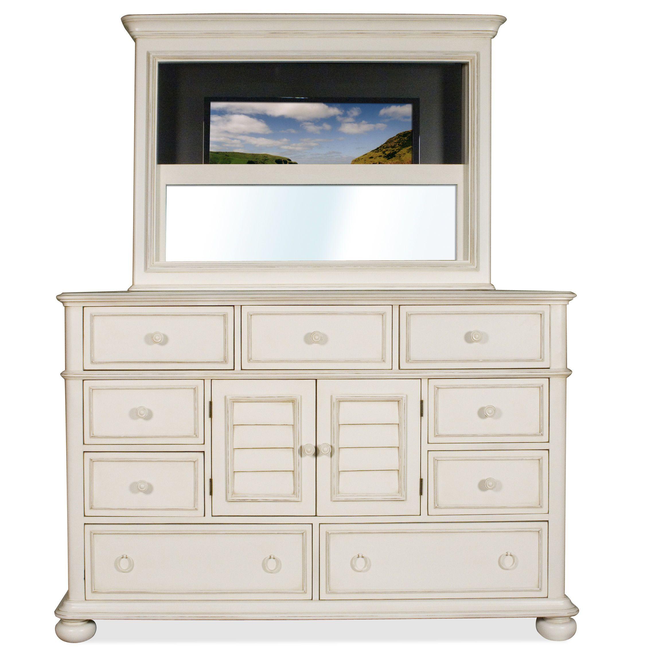 riverside bedroom media dresser 16794 - frazier and son furniture