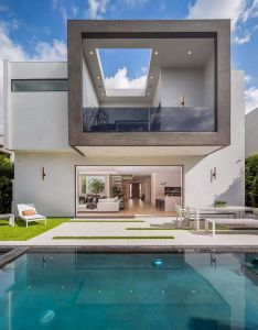 Contemporary two storey house located in la california designed by noesis group also exquisitely crafted is  model of style and rh pinterest