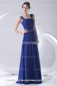 ocean blue chiffon bridesmaid dress | Bridesmaids dresses ...