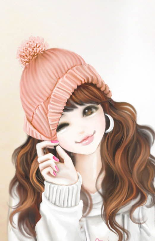 Cute Profile Pictures Cartoon Girls