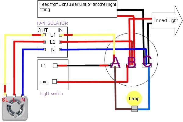 Extractor Fan Wiring Diagram Useful Websites Pinterest