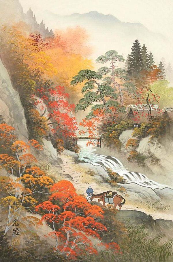 Koukei Kojima Landscapes Japanese