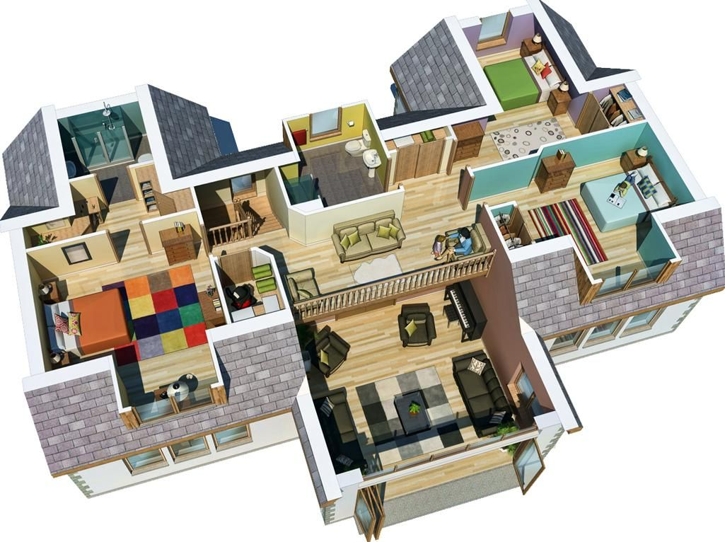 Home Architecture Auskerry Large House 3d 3d Home Design With