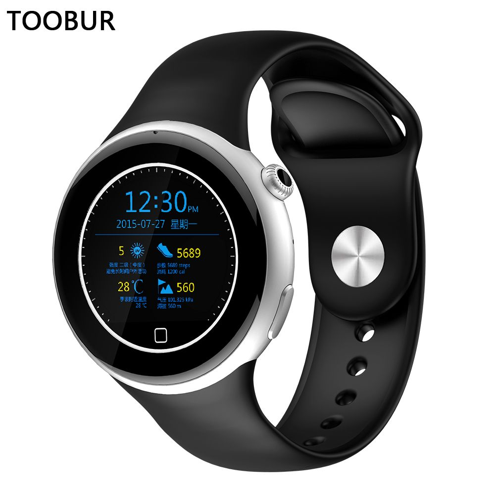 Toobur High Quality Uv Sensor Bluetooth Wrist Watch
