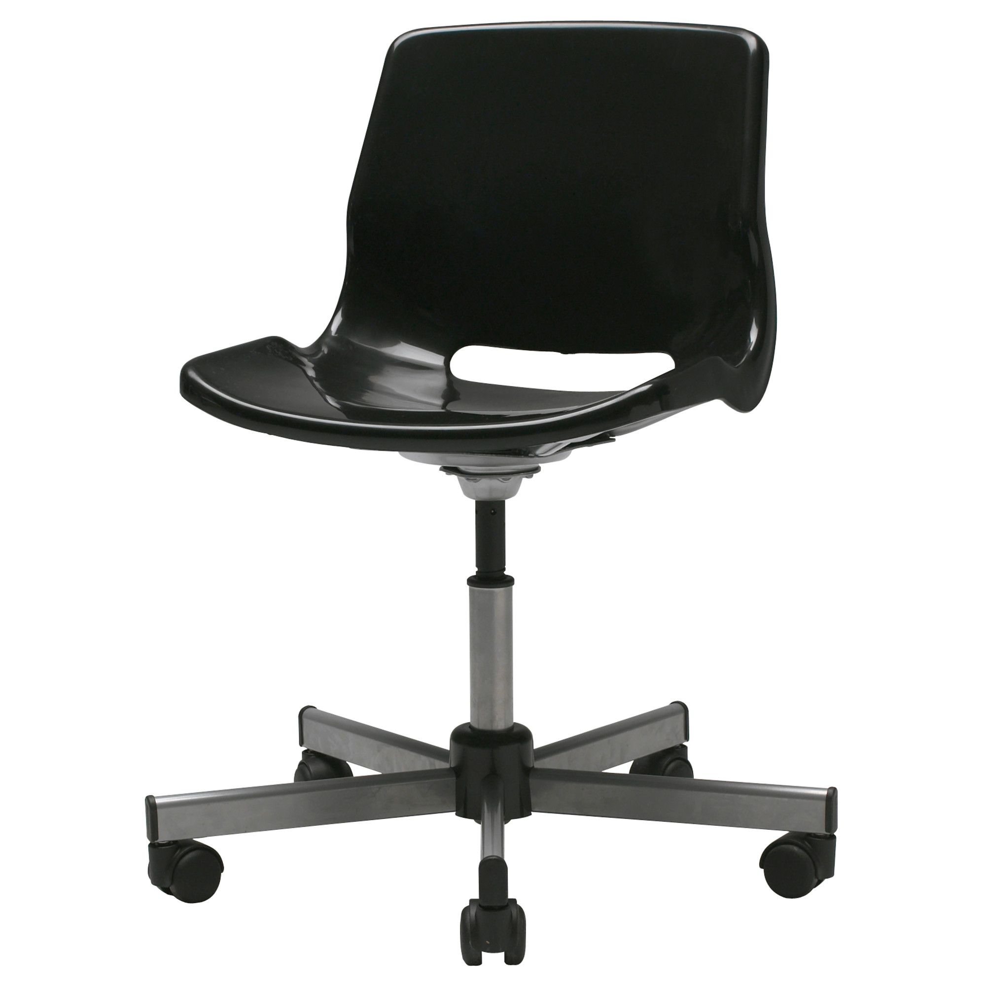 Black Desk Chair Snille Swivel Chair Black Ikea Craft Room I Want