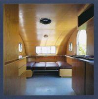 Handmade Custom Teardrop Trailer Interior Wood Trim And ...