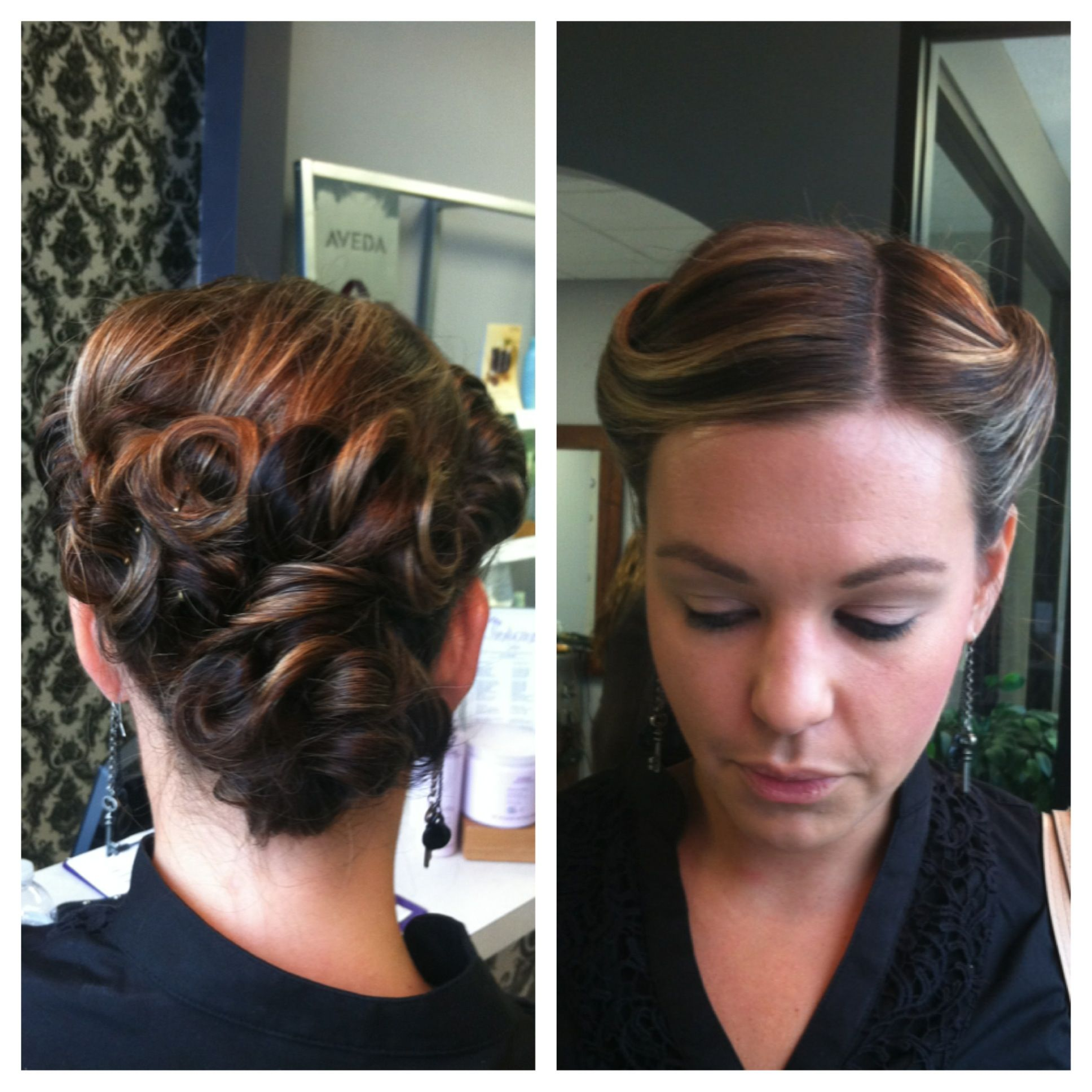 1920 s Inspired Up Do At The Salon