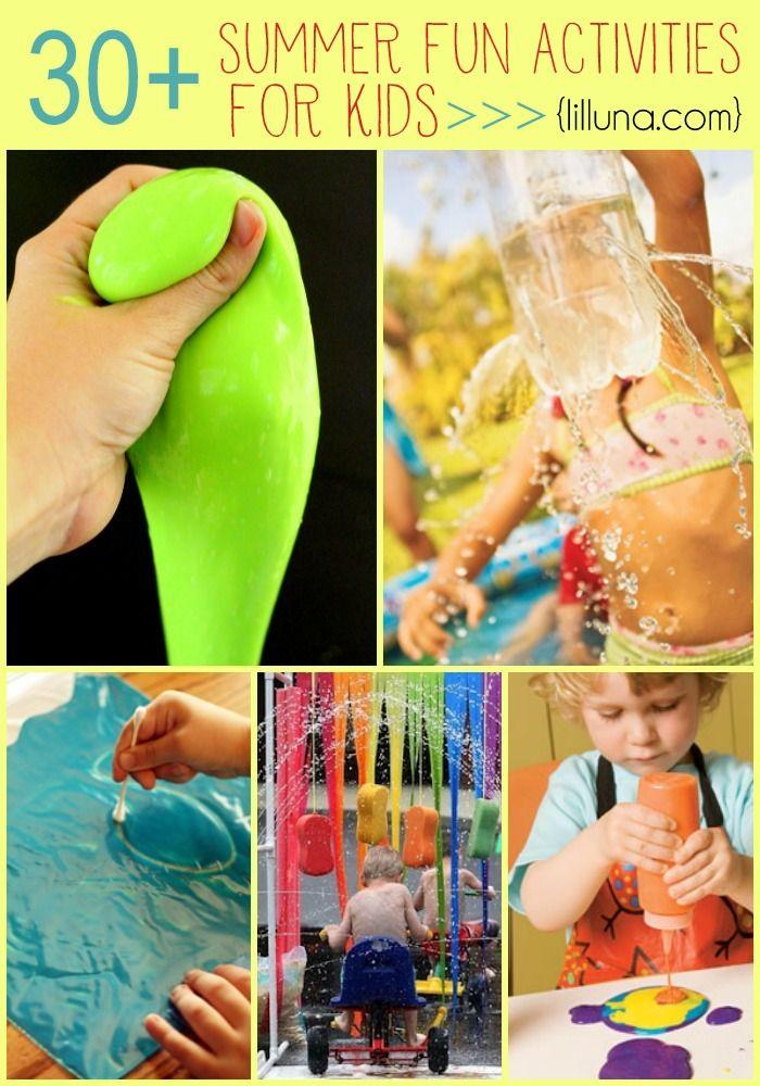 30 Summer Fun Activities for Kids  Classroom Ideas