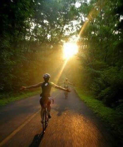 This is it. Why we do it, why we love it. That feeling of cycling