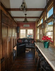 Interiors also the manliest tiny house called bushwhacker is up for grabs rh pinterest