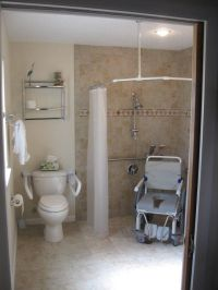 smallest size for an ada compliant home bathroom with ...