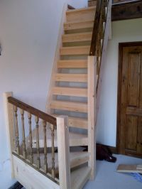 space saving loft stairs