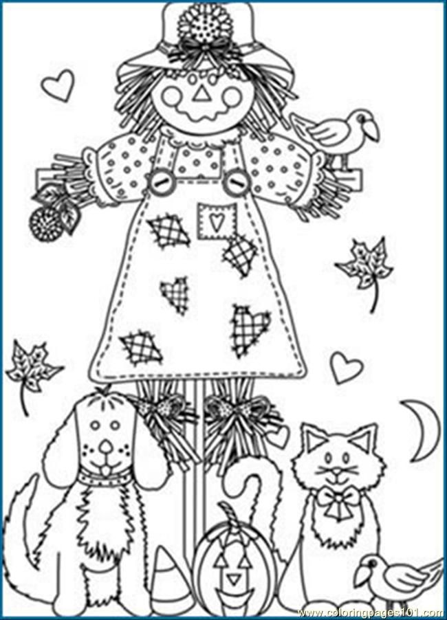 Printable Fall Coloring Pages Free Page Pages1 Natural World