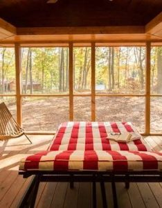 From the outside it   just  tiny log cabin but look inside also rh pinterest