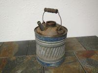 1 Gallon Galvanized kerosene can , lamp oil can, fuel can ...