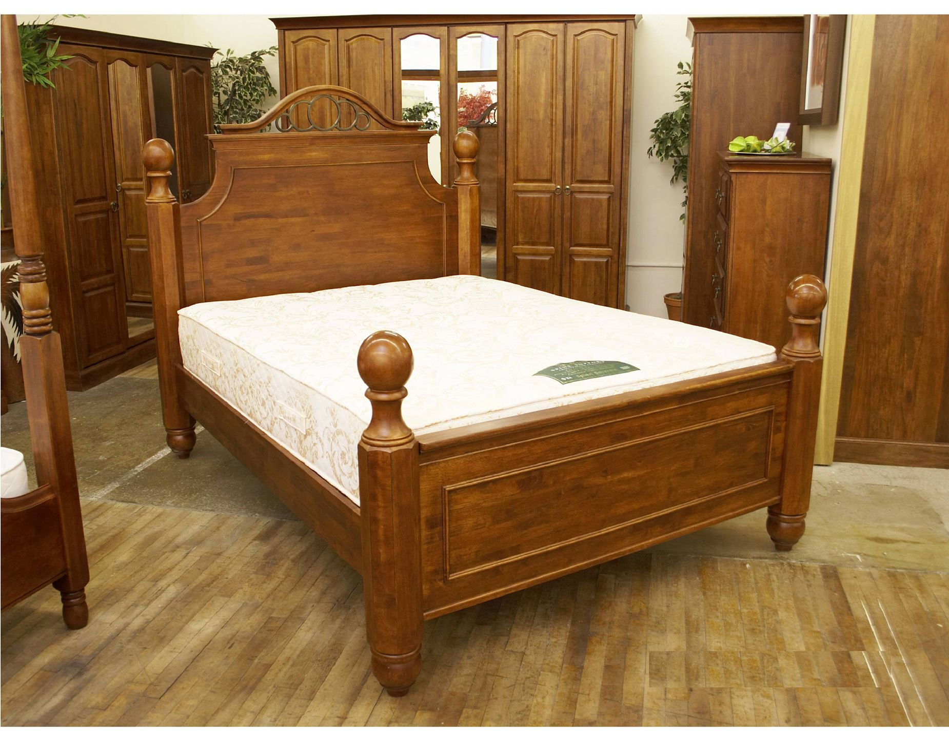 Oak Bedroom Furniture collection is handcrafted from