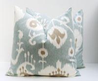 Throw Pillow Covers 18x18 Spa Blue Pillow Blue Green ...