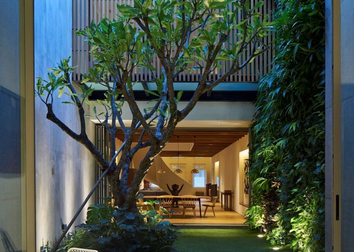 Playful contemporary dynamics and exotic past are entwined into the creation of this ong  ong singapore project full with intriguing pieces also house by in japanese interior design pinterest