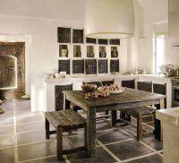 Rustic Chic Interior Design Rustic kitchen home design