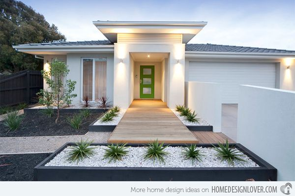 15 Modern Front Yard Landscape Ideas Planters Front Yard