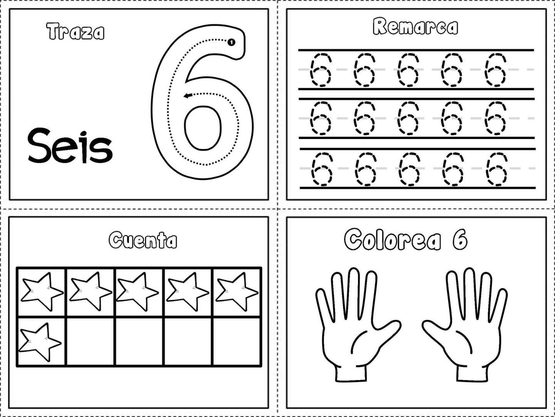 Grafomotricidad Numeros Del 1 Al 10 6