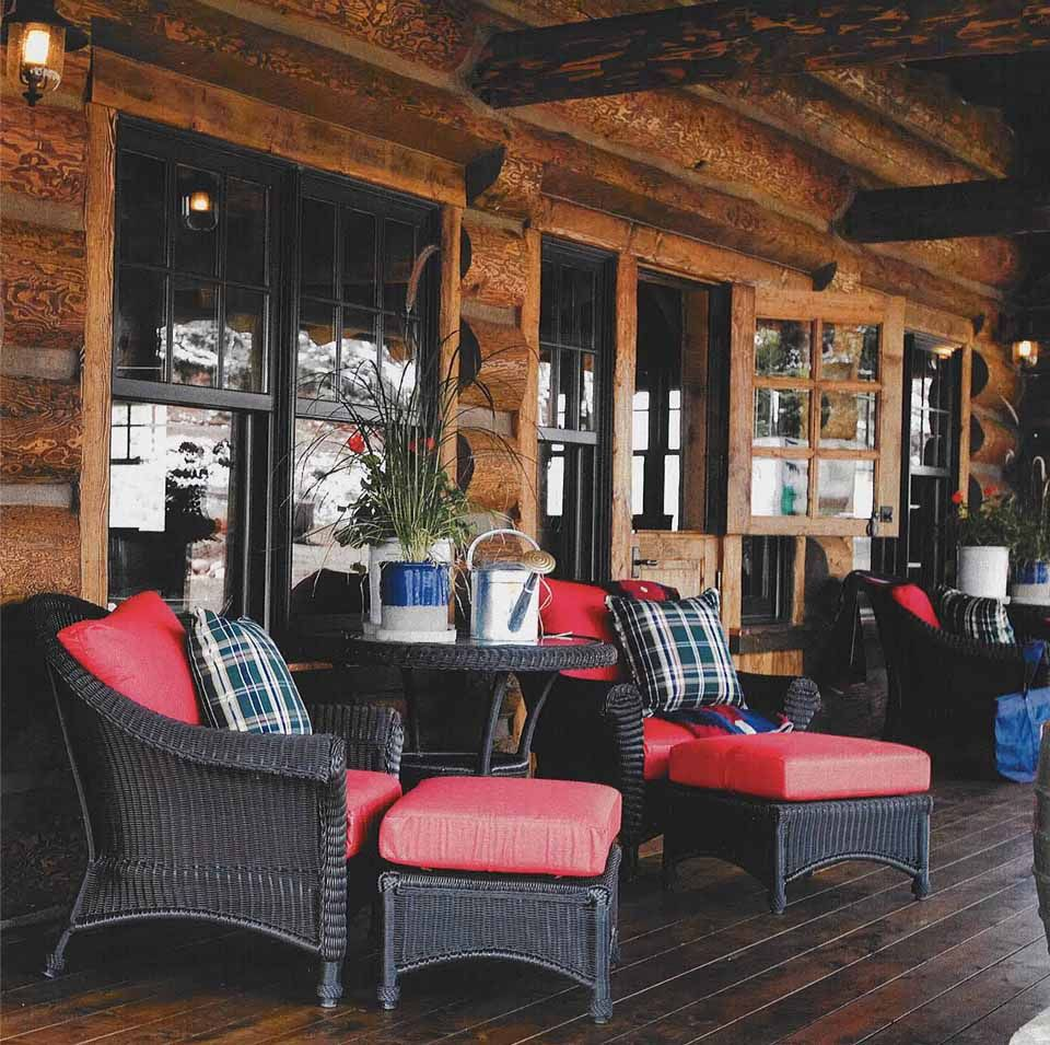Cabin Furniture and Decor by rgail59 on Pinterest  Lodge Style Decorating Rustic Cabin Decor