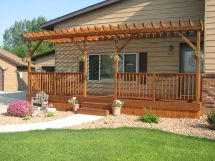 Dreaming Free Front Porch Pergola Ideas And