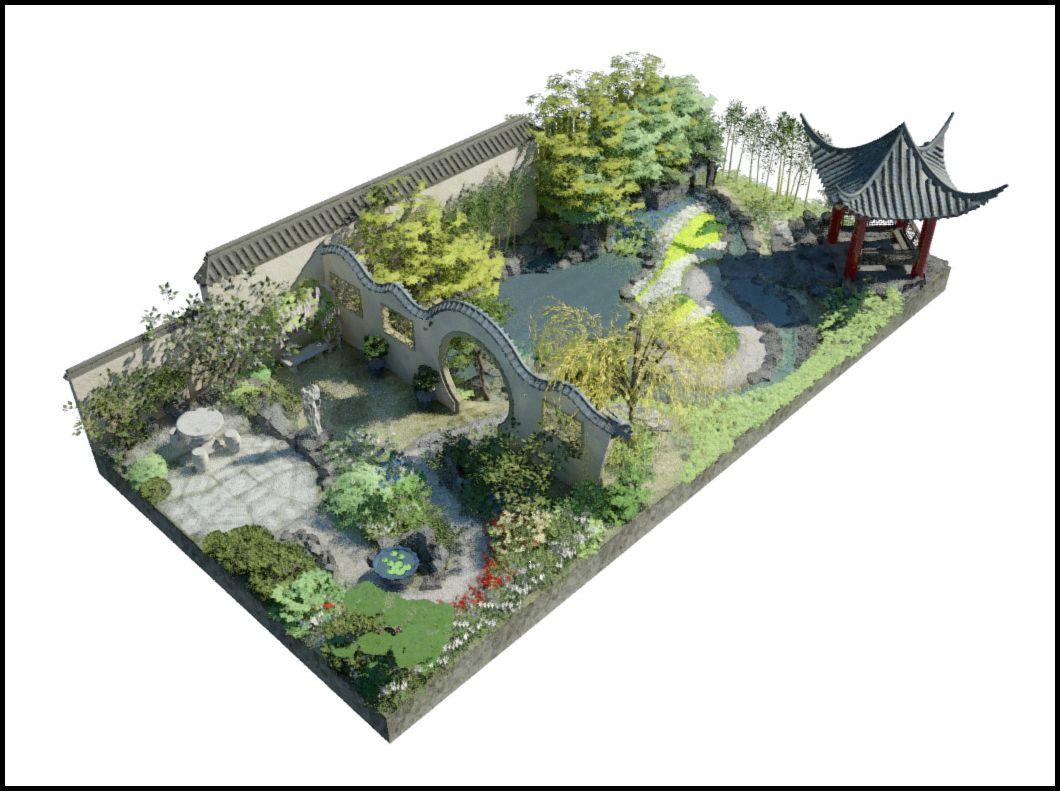 Chinese Garden Plan Google Search ChinaTown Pinterest