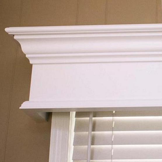 Pleasanton Custom Wood Window Cornice