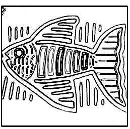 The Helpful Art Teacher: Molas. Beautiful fabric designs