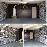 brick, contemporary, eclectic, faux brick panels, faux ...