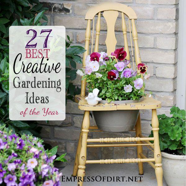 27 Best Creative Gardening Ideas Of The Year Gardens Creative