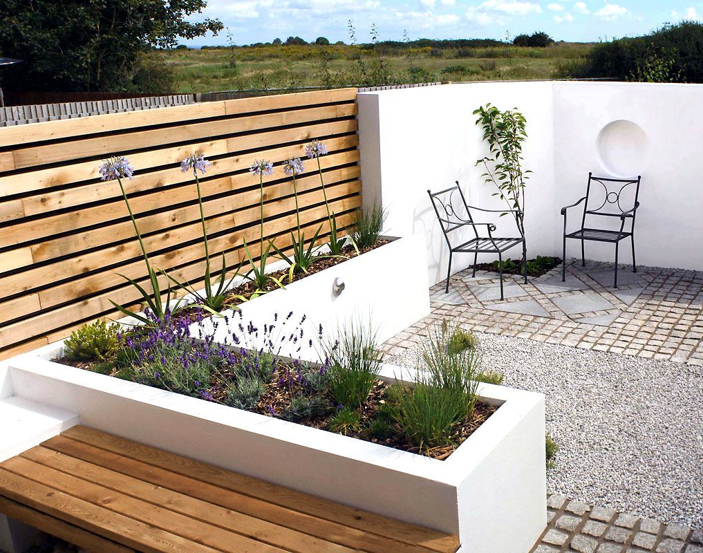 Contemporary Garden Design Small Gardens Modern Garden Ideas For