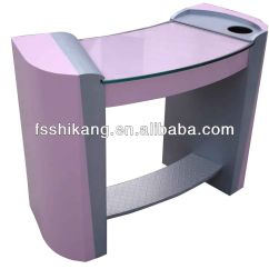 Pink Nail Salon Chairs Egg Chair With Stand Popular Glass Manicure Table Furniture