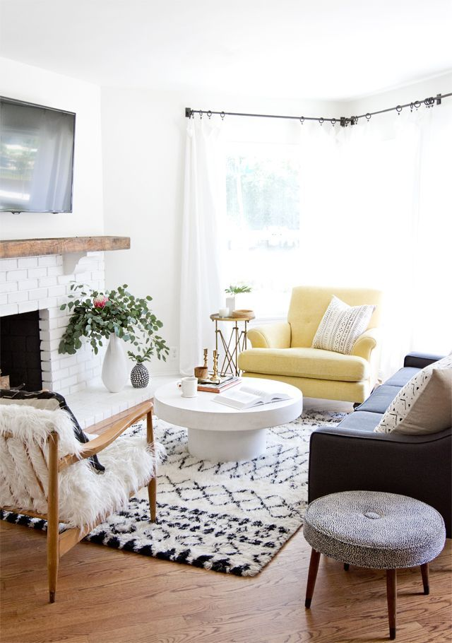 Livingroom interiors decor also color lover yellow in accent chairs accents rh pinterest