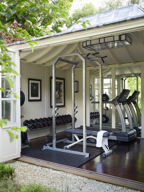 Salle De Sport #Fitness Décoration D'intérieur Pinterest