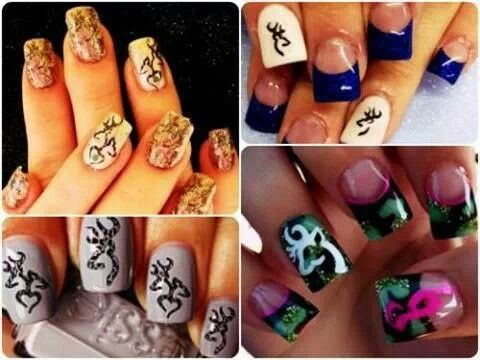 Best 25 Redneck nails ideas on Pinterest  Browning camo nails Hunting camo nails and Camo nails