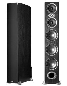 Each speaker contains  silk soft dome tweeter also polk audio tower rh nz pinterest