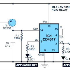 Electric Fence Circuit Diagram Diy Inner Heart Remote Control For Home Appliances. | Electronic Circuits Pinterest Remote, Electronics ...